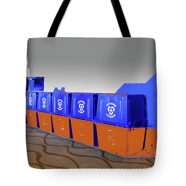 Tote Bag featuring the photograph Queen Of Carbon  Tanker by Bill Thomson