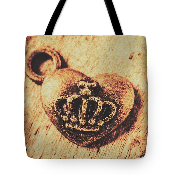 Queen Of Hearts Charm Tote Bag