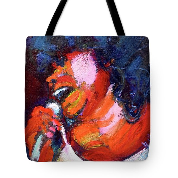 Queen Of The Blues Tote Bag
