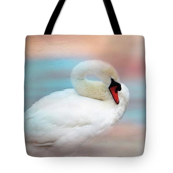 Queen Of The Lake Tote Bag by Wallaroo Images
