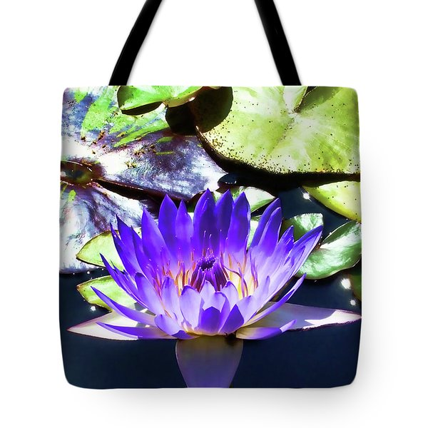 Queen On The Lake Tote Bag