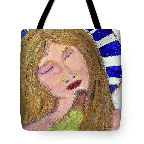 Queen Serene Tote Bag