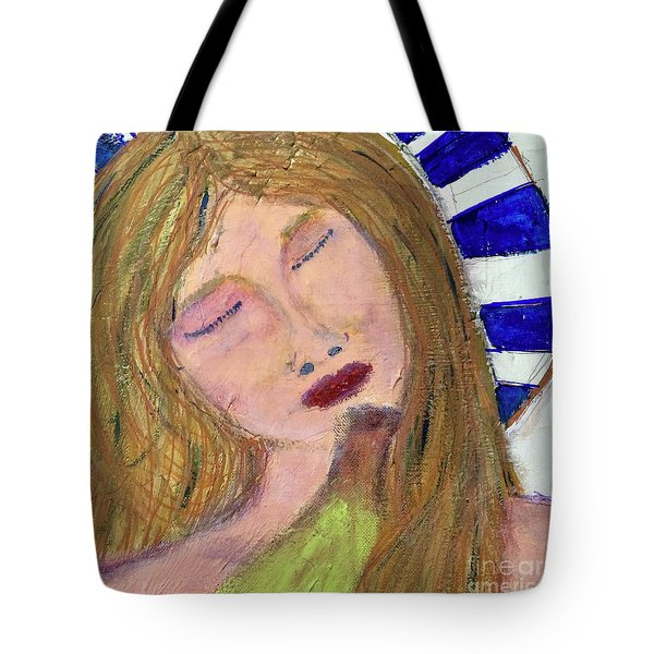 Queen Serene Tote Bag