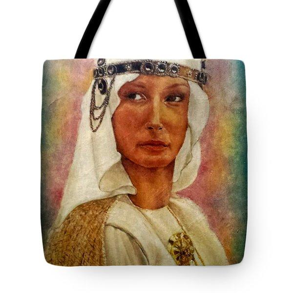 Queen Sheba  Tote Bag by G Cuffia
