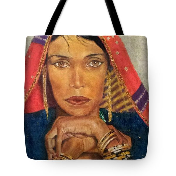 Queen Tahpenes  Tote Bag by G Cuffia