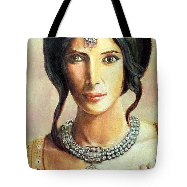 Queen Vashti Tote Bag by G Cuffia