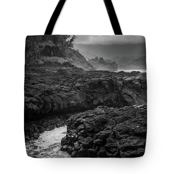 Queens Bath Kauai Tote Bag