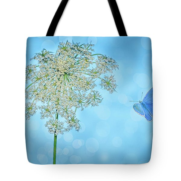 Queens Lace Tote Bag