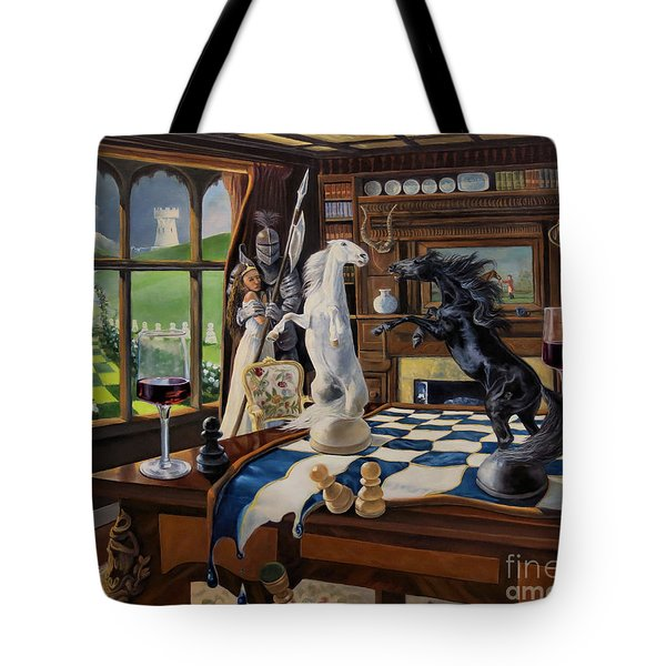 Queen's Magic Tote Bag by Jeanne Newton Schoborg
