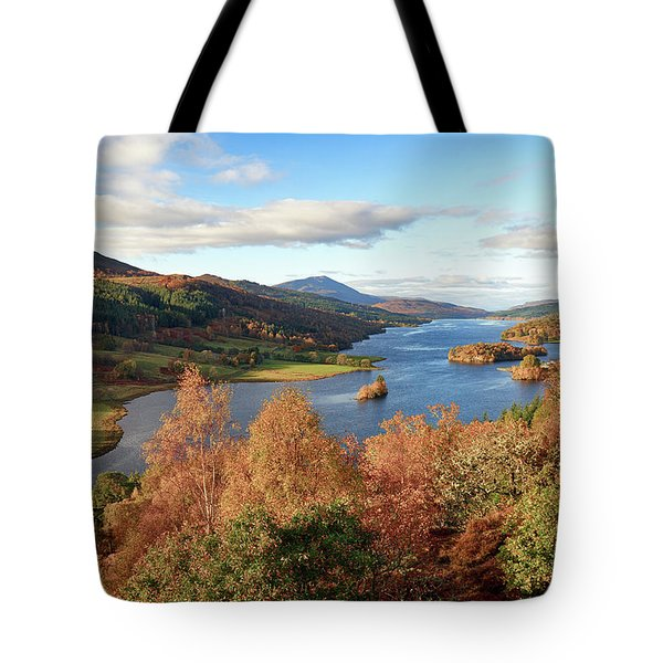 Queens View Tote Bag