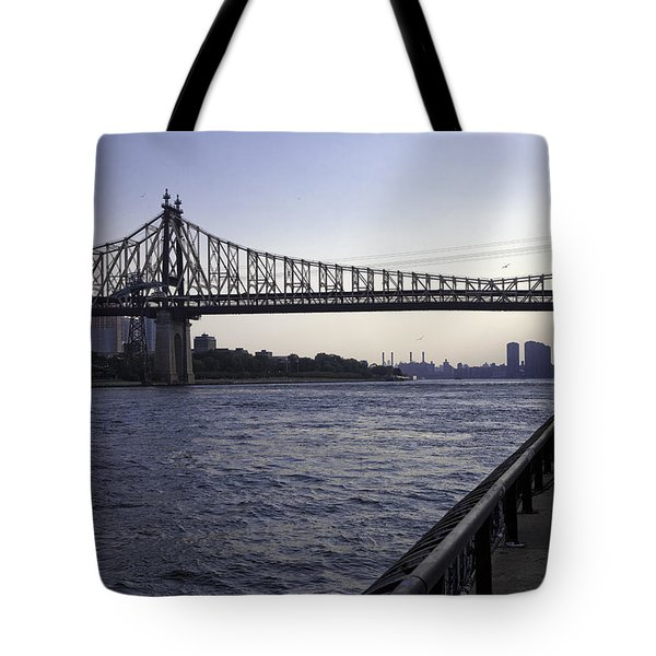 Queensboro Bridge - Manhattan Tote Bag