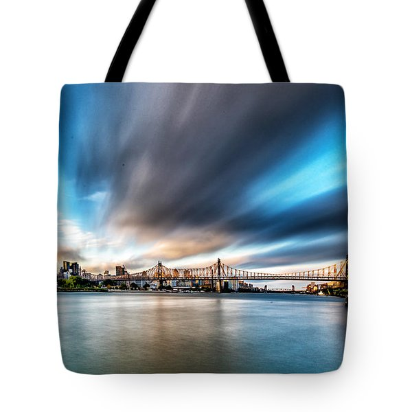 Queensboro Bridge Tote Bag