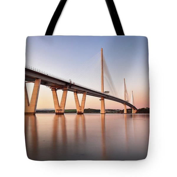 Queensferry Crossing Tote Bag