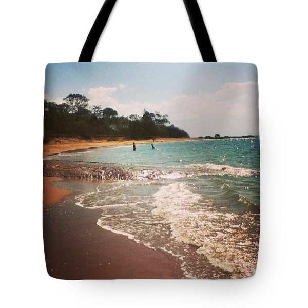 #queensland #beach #beautiful #iloveit Tote Bag