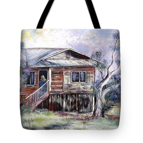 Queenslander Style House, Cloncurry. Tote Bag
