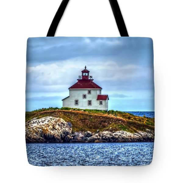 Queensport Lighthouse Tote Bag by Ken Morris