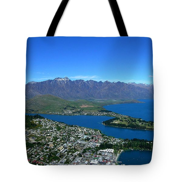 Queenstown New Zealand Tote Bag