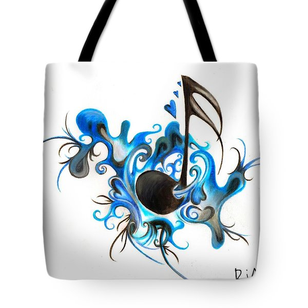 Quenched By Music Tote Bag