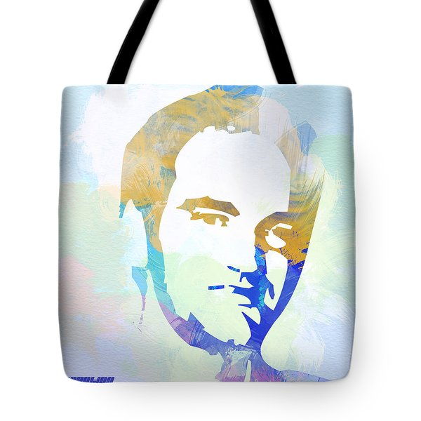 Quentin Tarantino Tote Bag by Naxart Studio