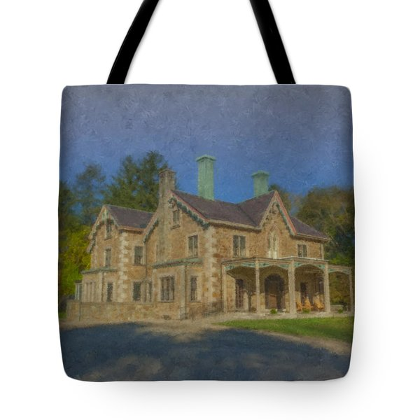 Queset House Tote Bag