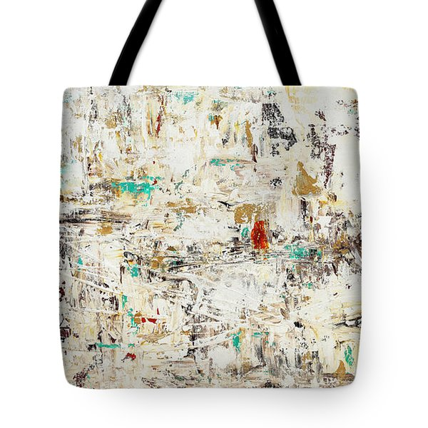 Tote Bag featuring the painting Quest by Carmen Guedez