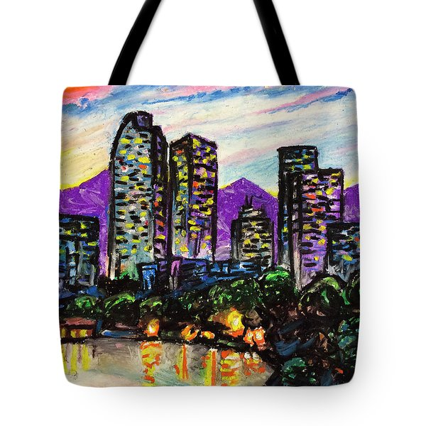 Quick Sketch - Denver Tote Bag by Aaron Spong