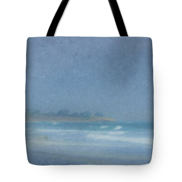 Foggy Afternoon At Little Compton Ri Tote Bag