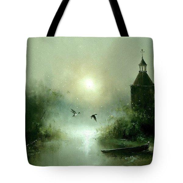 Quiet Abode Tote Bag