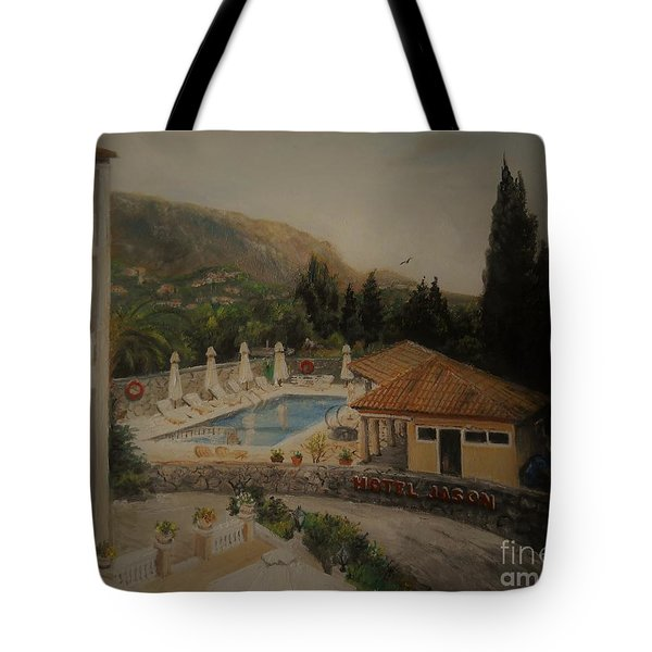 Quiet And Sunny Tote Bag