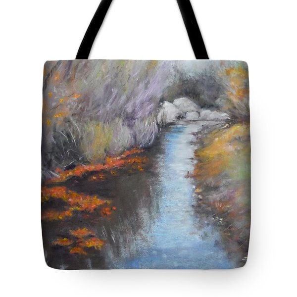 Quiet Arrival Tote Bag
