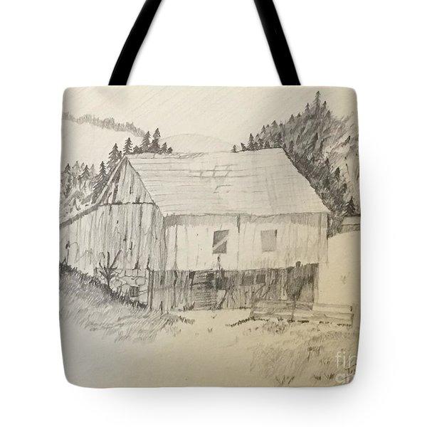 Quiet Barn Tote Bag