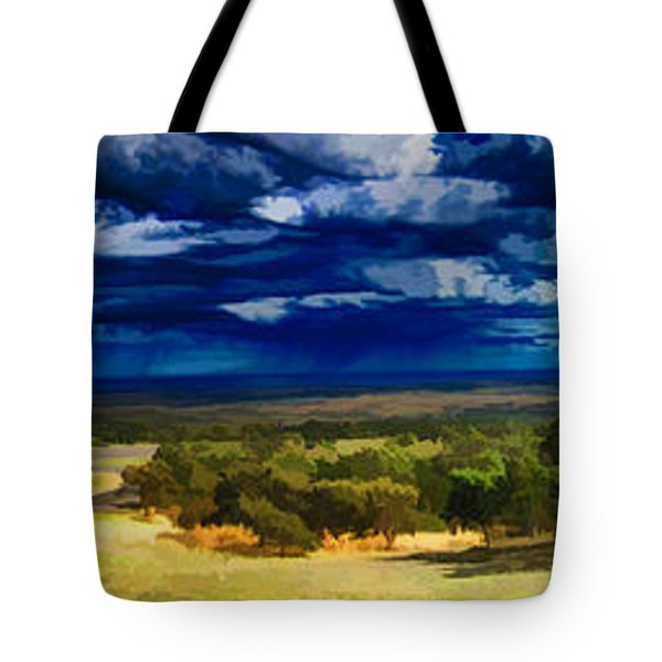 Quiet Before The Storm Tote Bag by Douglas Barnard
