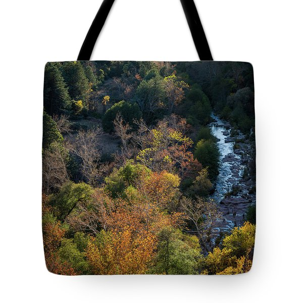 Quiet Canyon Tote Bag