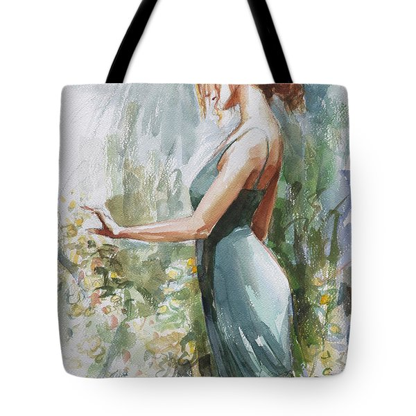 Quiet Contemplation Tote Bag