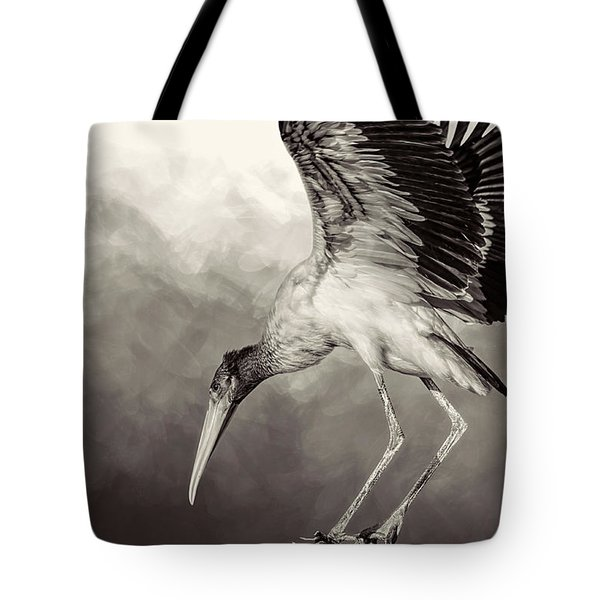 Quiet Tote Bag by Cyndy Doty