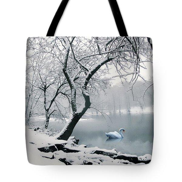 Quiet Grace Tote Bag