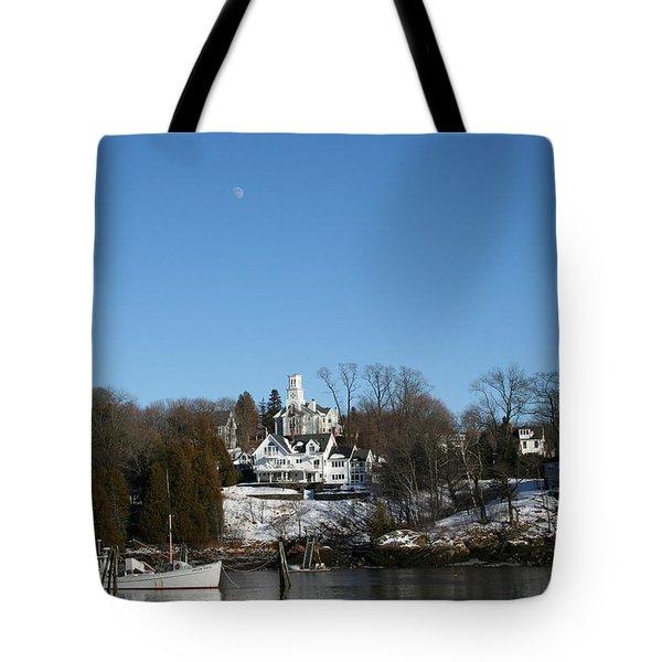 Quiet Harbor Tote Bag