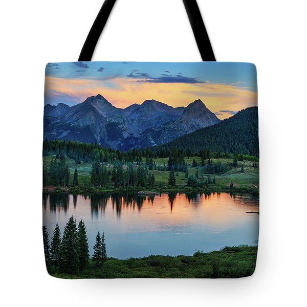 Tote Bag featuring the photograph Quiet In The San Juans by Rick Furmanek