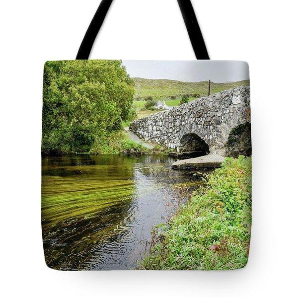 Quiet Man Bridge Tote Bag