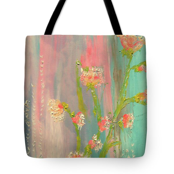 Quiet Marshmallow Time Tote Bag