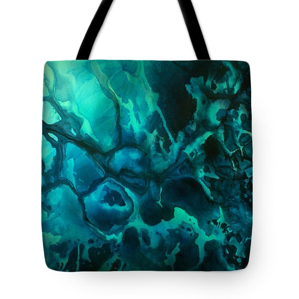 'quiet' Tote Bag by Michael Lang