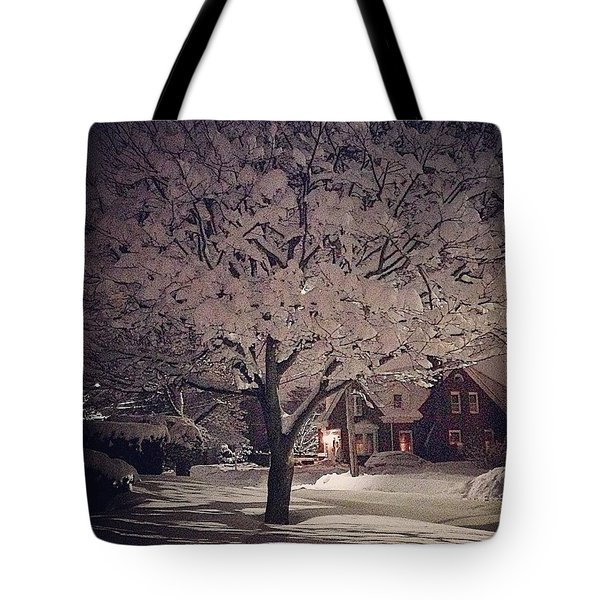 Quiet Night On The South Coast Tote Bag