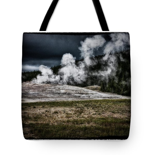 Quiet Old Faithful Tote Bag by Hugh Smith