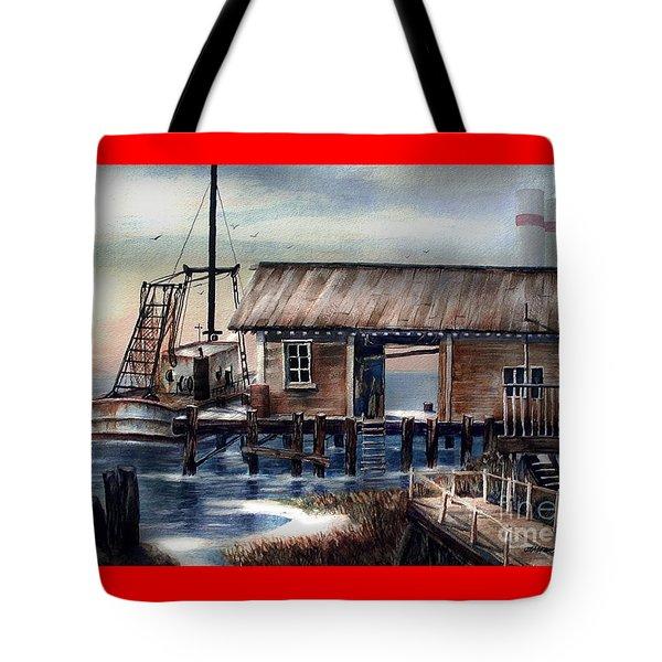 Quiet Pacific Dockside Tote Bag