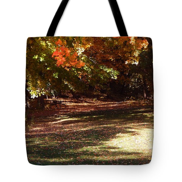 Quiet Picnic Place Tote Bag