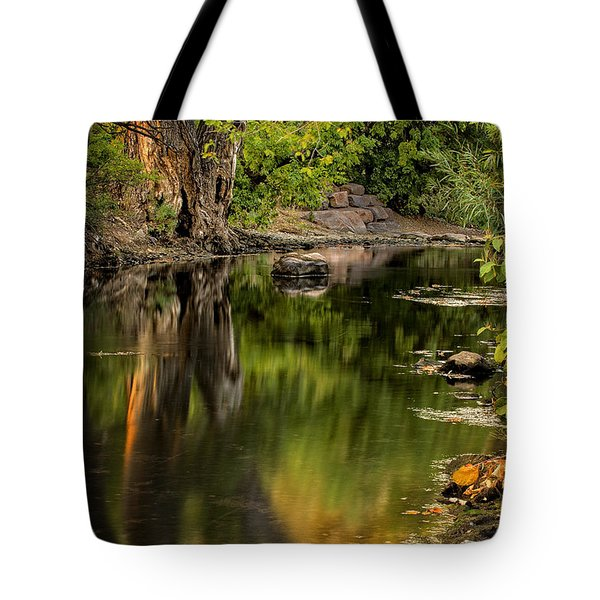 Quiet River Tote Bag