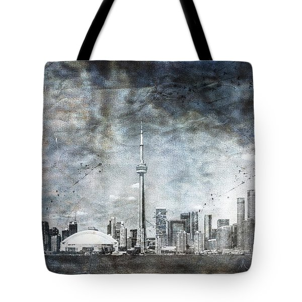 Quiet Sky Tote Bag