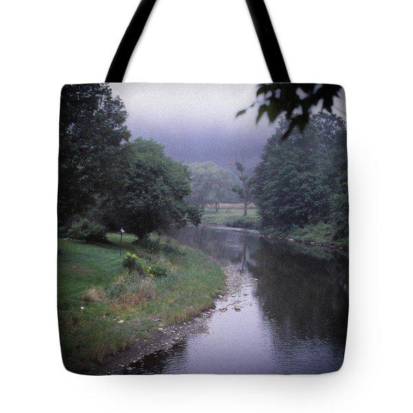 Quiet Stream- Woodstock, Vermont Tote Bag