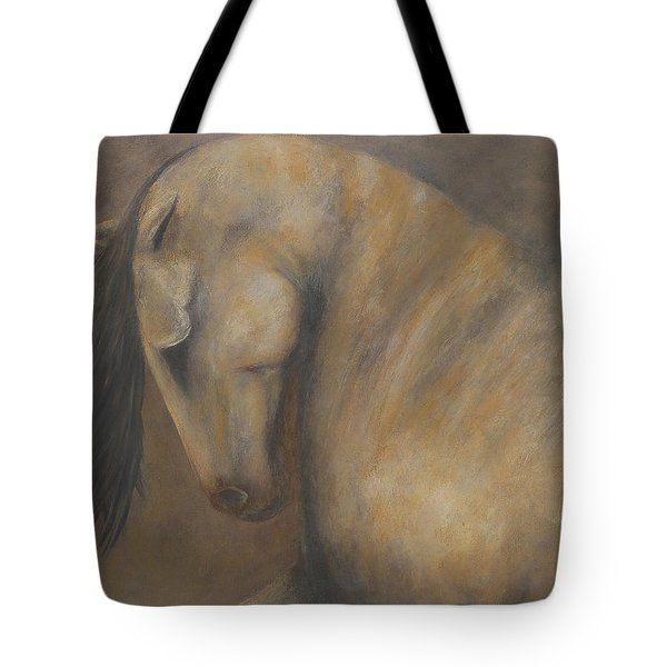 Quiet Strength II Tote Bag by Jennifer Godshalk