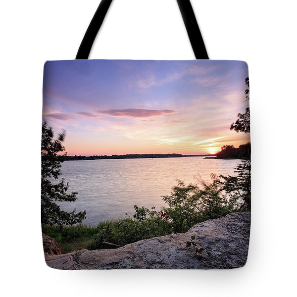 Tote Bag featuring the photograph Quiet Sunset by Jennifer Casey
